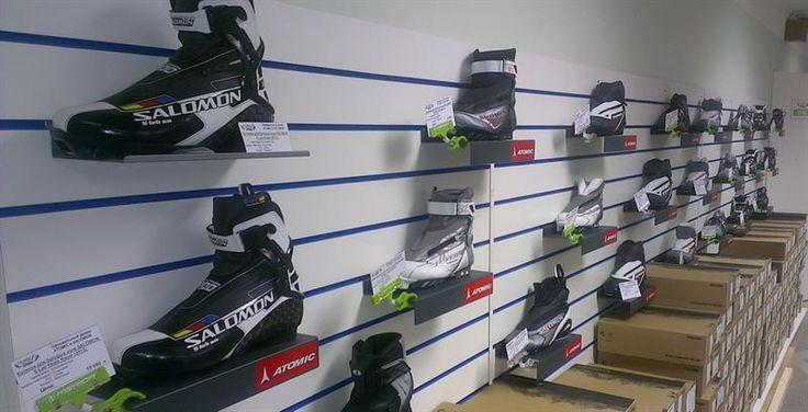 Лыжные ботинки salomon прогулочные лыжи купить