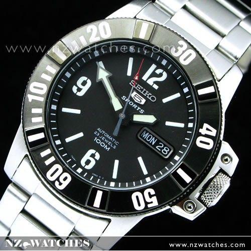 Seiko 5 Sports Automatic 100m 23 Jewels SNZG83K1