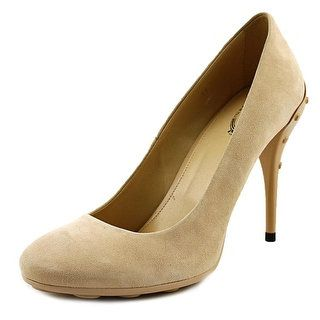 Shop for Tod's Gmma T105 SH Decollete Round Toe Suede Heels. Get free shipping at Overstock.com - Your Online Shoes Outlet Store! Get 5% in rewards with Club O! - 21017141