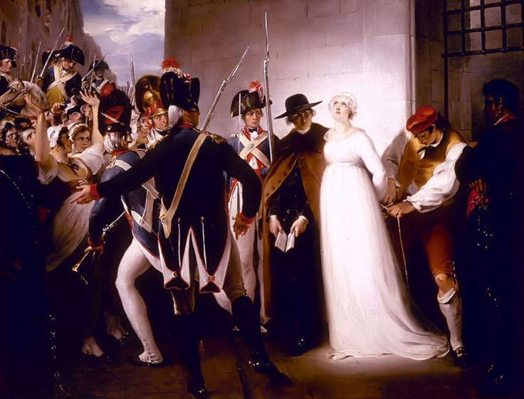 """October 16th, 1793: The Execution of Marie-Antoinette.    """"I was a queen, and you took away my crown; a wife, and you killed my husband; a mother, and you deprived me of my children. My blood alone remains: take it, but do not make me suffer long."""".. M.A."""