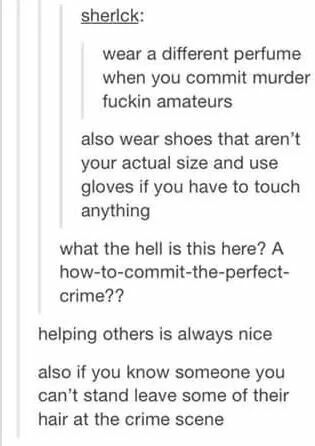 How to commit murder 101ve never responded something so fast in my life haha