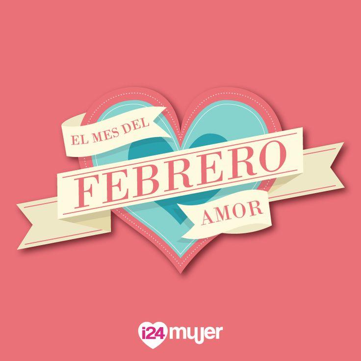 ¡Llegó el mes más hermoso del año! ¡Bienvenido mes del amor, mes de febrero! #PuroLove <3