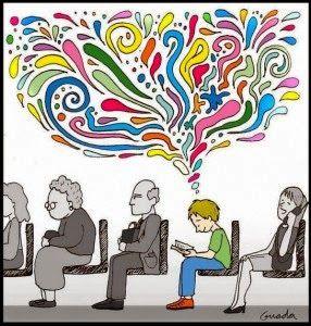 Aula virtual de audición y lenguaje: ***  Frases para el Día del Libro  ***