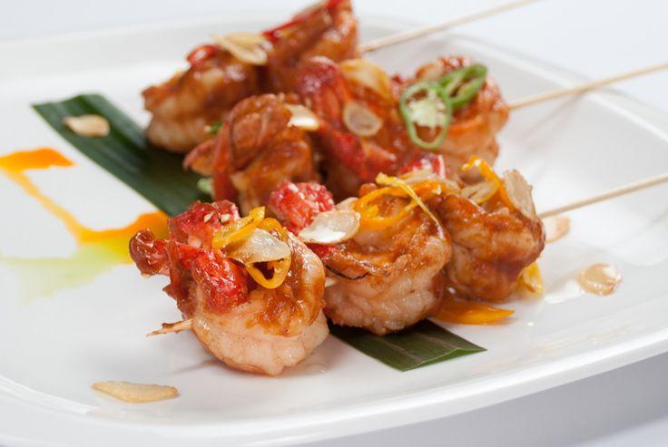 Deep-Fried Shrimp in Tamarind Sauce