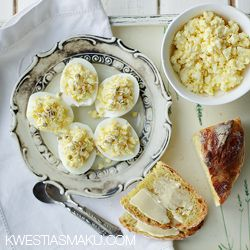 Pasta jajeczna - Przepis