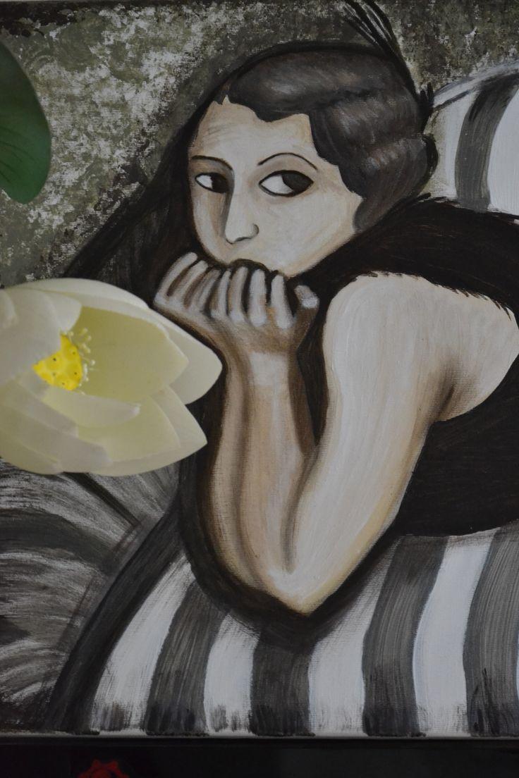 Elżbieta Gonciarz-acryl na płótnie