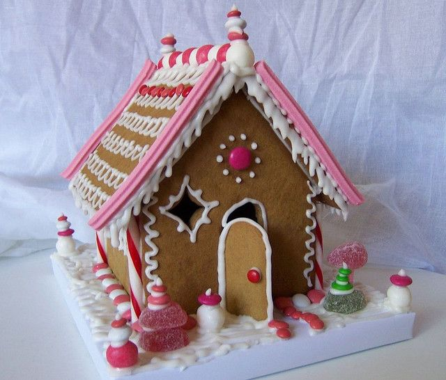 Gingerbread House by emma makes, via Flickr
