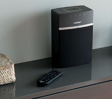 Keep your favorites right where you want them. The compact Bose(R) SoundTouch 10 Wireless Music System lets you stream your most-loved music with ease. Page 1 QVC.com