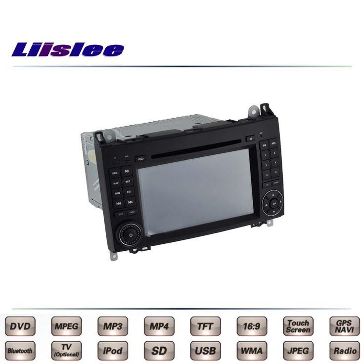 For Mercedes Benz B180 B200 B170 MB W245 Car Multimedia TV DVD GPS Radio Original Style Navigation Liislee Advanced Navi