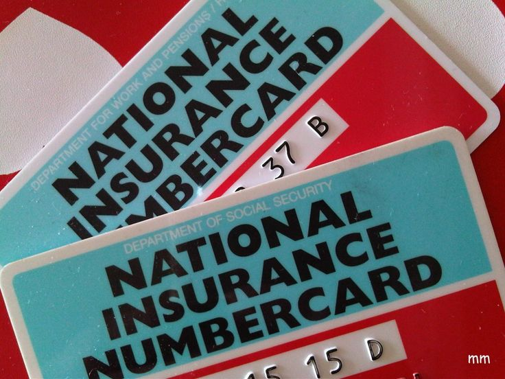 National Insurance Number, la SegSoc de UK