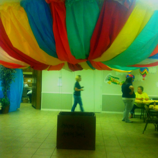 Hot air balloon craft decor for VBS God's Amazing Wonders