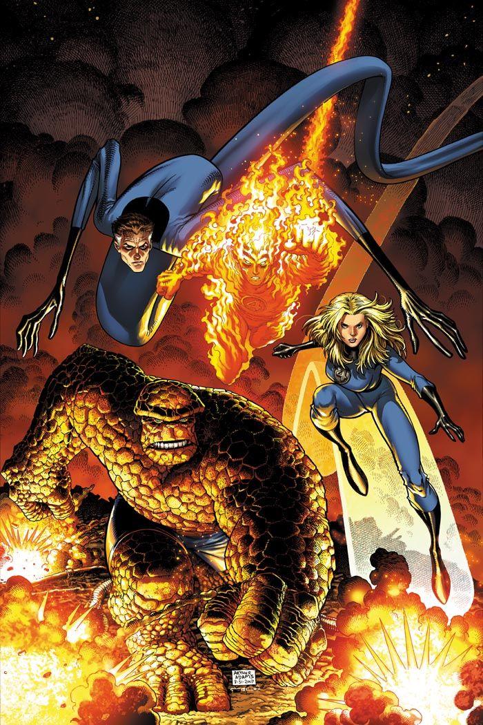 Art Adams Fantastic Four Cover by CeeCeeLuvins.deviantart.com