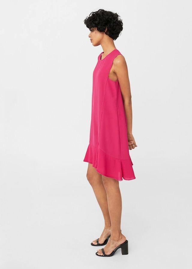 eac2571709fd Flowy ruffled dress - Women | dkny dress | Pinterest | Dresses ...