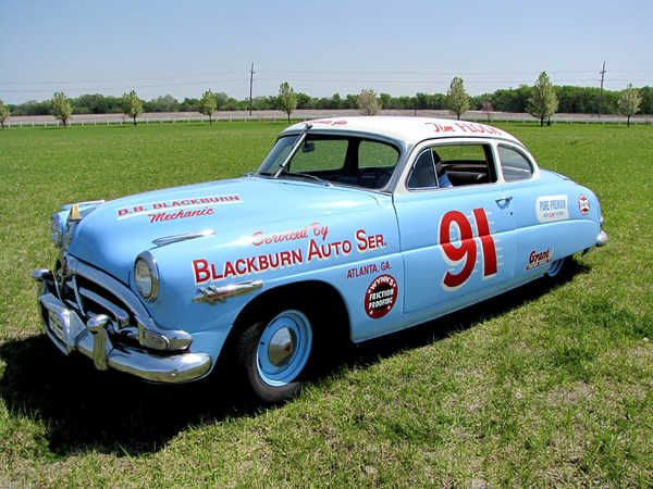 1952 hudson hornet nascar nascar pinterest nascar cars and vintage race car. Black Bedroom Furniture Sets. Home Design Ideas