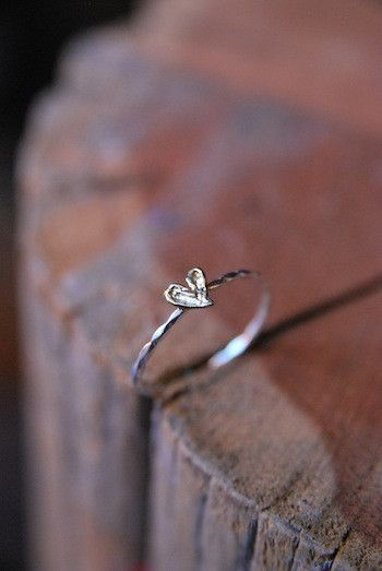 delicate ring from Old Hollywood. Promise ring?