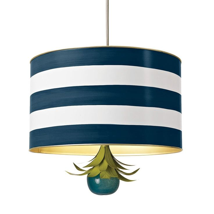 A glamorous pendant with a dazzling frou frou finial. The shade is handcrafted, hand painted tole. The adorable chartreuse leafy nosegay is also tole, and the milky blue ball is mouth blown from recycled glass. Handmade by artisans in Mexico.