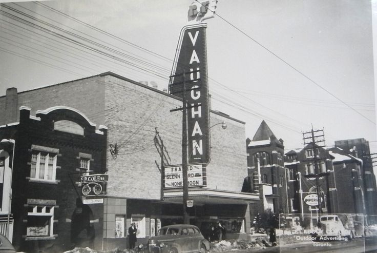 The Vaughan Cinema, corner of Vaughan Rd/St Clair Ave West, Toronto circa 1950