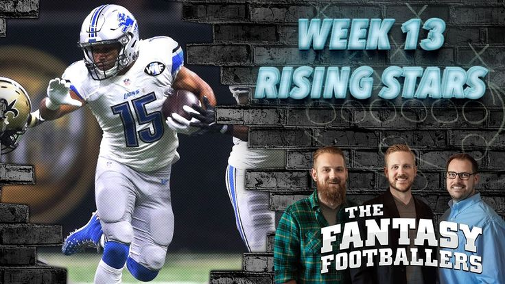 Fantasy Football 2016 - Week 13 Studs, Duds, Rising Stars, News - Ep. #320 - Fantasy FootBall Videos
