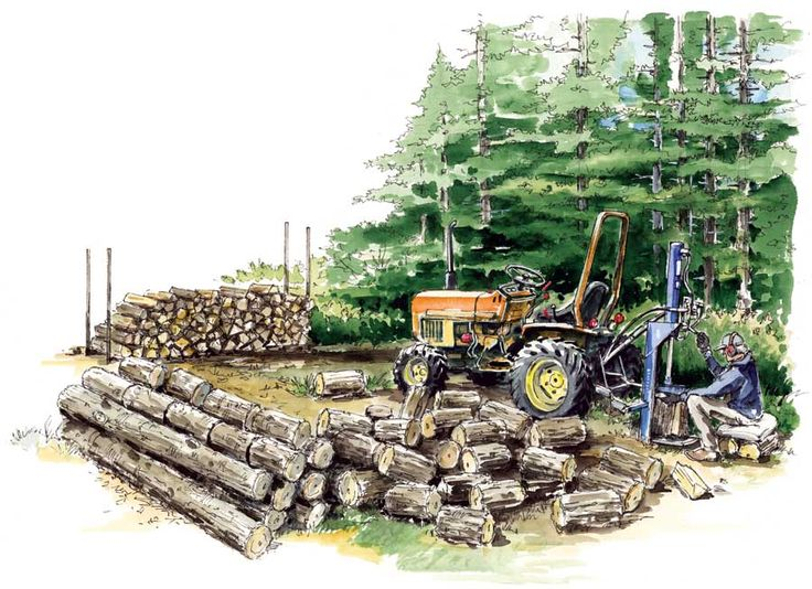 How to Get the Best Firewood for Clean and Affordable Energy    Find out where to harvest or buy firewood, plus how to split, dry and stack your logs for the most efficient wood heat.