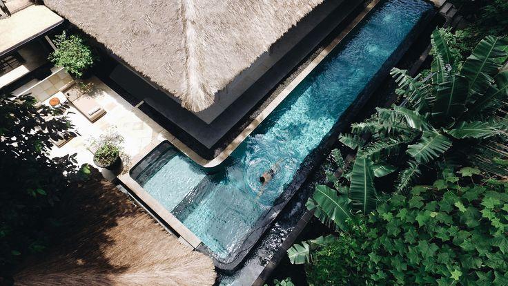 Latest drone shot of SUNGAI's gorgeous pool