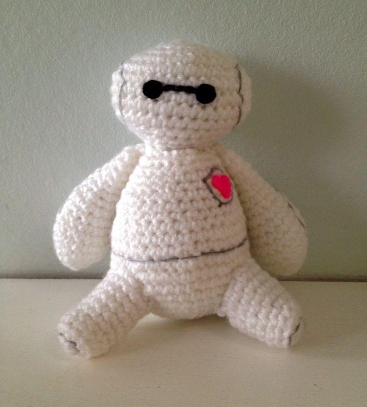Amigurumi Free Pattern Baymax : Baymax 2015 crocheted cuties Pinterest Baymax