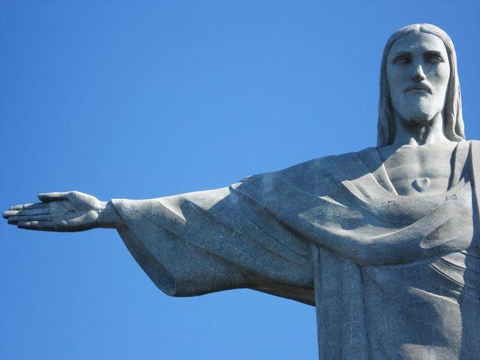 Cristo Redentor, Morro do Corcovado, Santa Teresa, Rio de Janeiro - RJ, Brasil