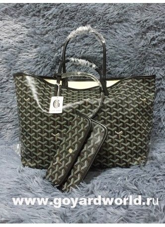 Goyard Saint Louis PM Bag Black