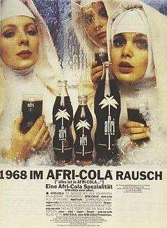 Afri-Cola im Rausch von 1968.