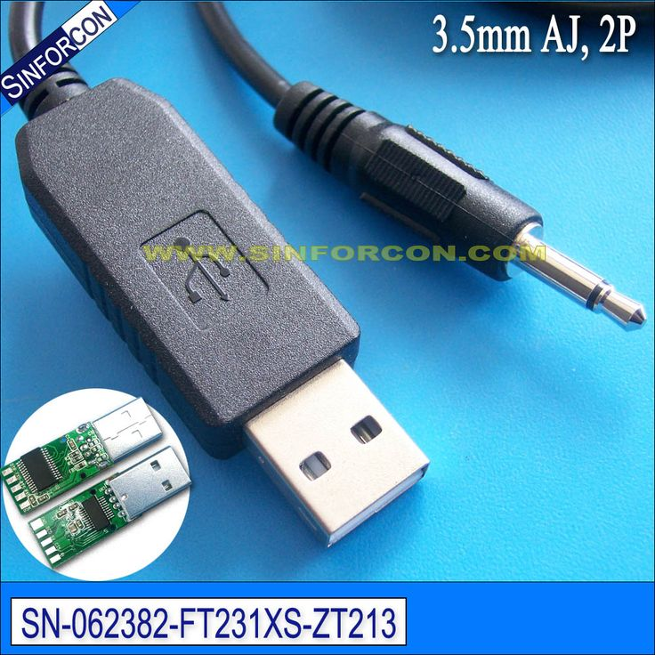 ftdi ft231xs usb rs232 serial adapter cable with 3.5mm jack 2 pole
