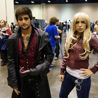 This notorious couple from Once Upon A Time. | 39 Costumes From Megacon That Will Blow Your Mind