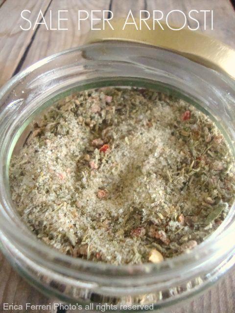 homemade Salt for roasts - Sale per arrosti fatto in casa