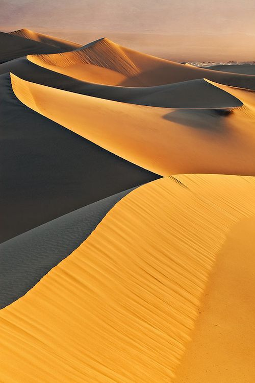 Mesquite Sand Dunes - Death Valley National Park, California.