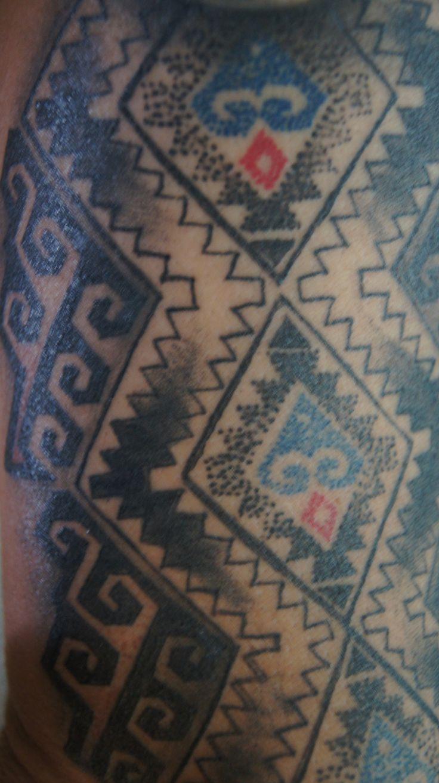 mapuche tatoo