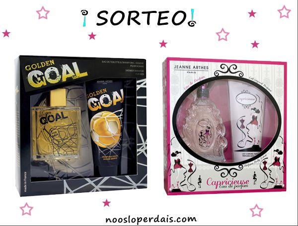Participa gratis en el sorteo de 2 estuches de perfumes Navideños desde aqui: http://noosloperdais.com/2014/11/20/sorteo-estuches-navidad-de-jeanne-arthes/