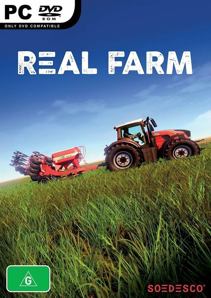 Real Farm Open World Farming Sim Farmer Simulator PC DVD