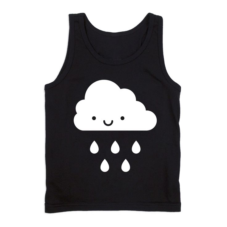 Kawaii Cloud Tank Top from Whistle & Flute, available at Modern Rascals