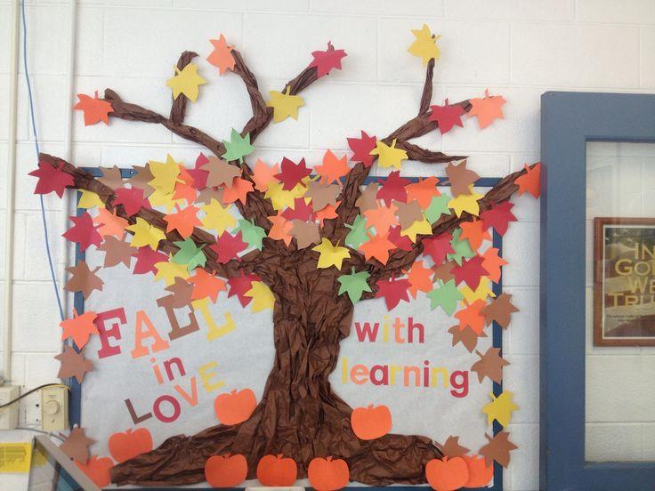 My October bulletin board!