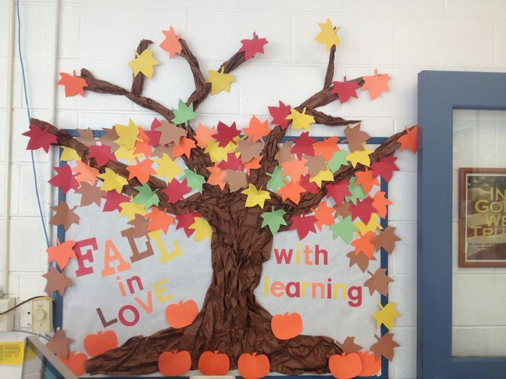 My October bulletin board!