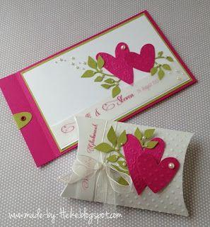Meine Kreative Welt...: Zur Hochzeit... Einladungskarten ...