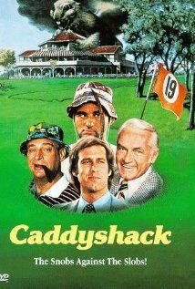 "Caddyshack- Carl Speckler: So we finish the 18th and he's gonna stiff me. And I say, ""Hey, Lama, hey, how about a little something, you know, for the effort, you know."" And he says, ""Oh, uh, there won't be any money, but when you die, on your deathbed, you will receive total consciousness."" So I got that goin' for me, which is nice."""