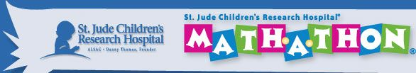 Donate money for the St Jude Math-A-Thon! Click the pin, scroll to the bottom of the page, click the big pink button, look up Peaster, click the school name that is on the list, then you will see something that asks you to find a participant, at the bottom of that it should say 'Search on behalf of Peaster Middle School' or something like that click that then click the amount|||Home - Math-A-Thon | St. Jude | Great cause, fun, and easy to do...who can I get to donate??? Comment if you…