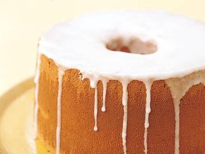 [レモンシフォンケーキ  Lemon Chiffon Cake