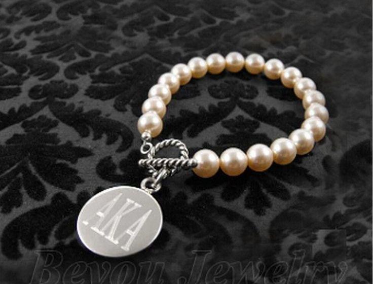 Simulated Pearl AKA Bracelet