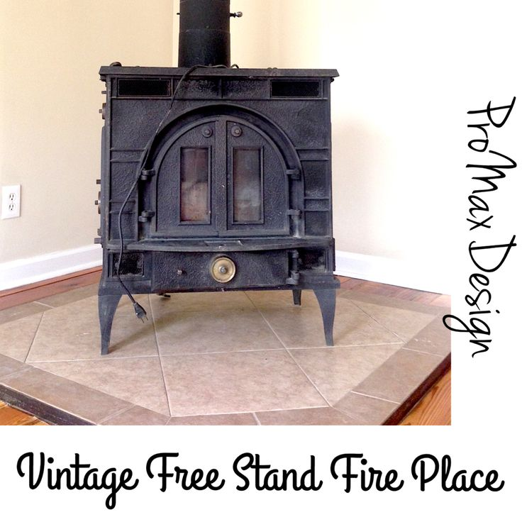 Free Stand Fire Place