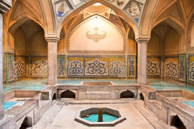 Hamam in Alanya, Turkey