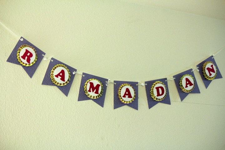 Ramadan Rosette Banner