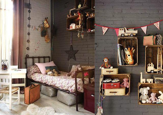 Ideas para decorar tu cuarto estilo vintage for Cuartos de ninas estilo vintage