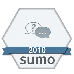 2010 Support Forum Badge