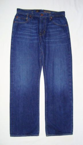 ADRIANO-GOLDSCHMIED-Mens-Hero-Relaxed-Fit-Straight-Leg-Jeans-Size-33