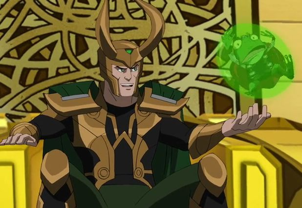 Loki from Ultimate Spiderman on the episode 'fieldtrip ...